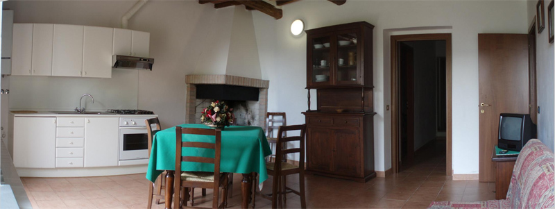 Agriturismo Valle Verde - Zona Giorno - Living Room