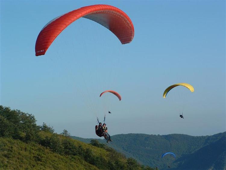 Agriturismo Valle Verde - Parapendio - Paragliding