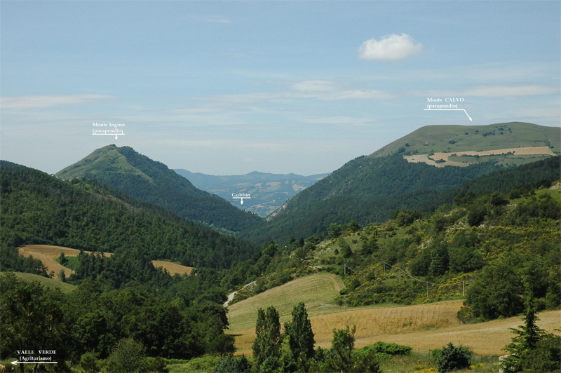 Agriturismo Valle Verde - Parapendio Monte Calvo - Mount Calvo Paragliding